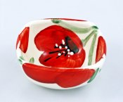 Red Flower Small Bowl (1)