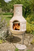 Chimenea Spanish Scroll