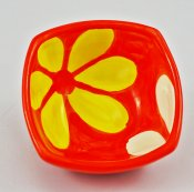 Yellow and White Blossom Small Bowl (1)