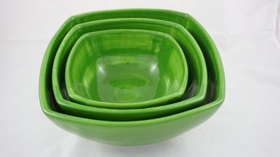 Green Small Bowls Set (1)