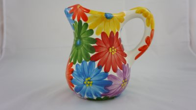 Colourful Flower Jug (1)