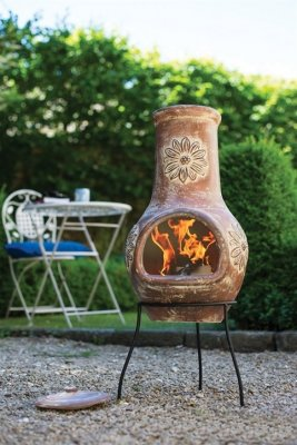 Chiminea Flower